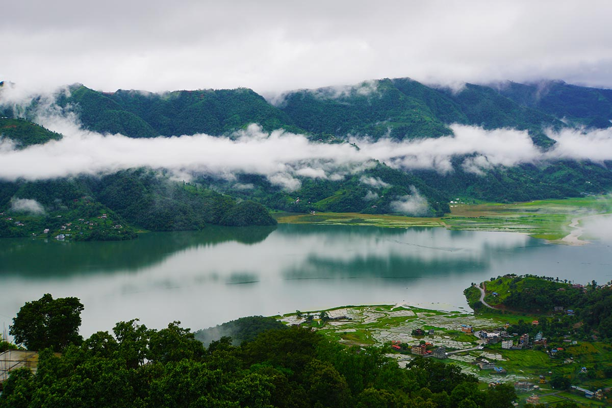 View of Phewa Lake