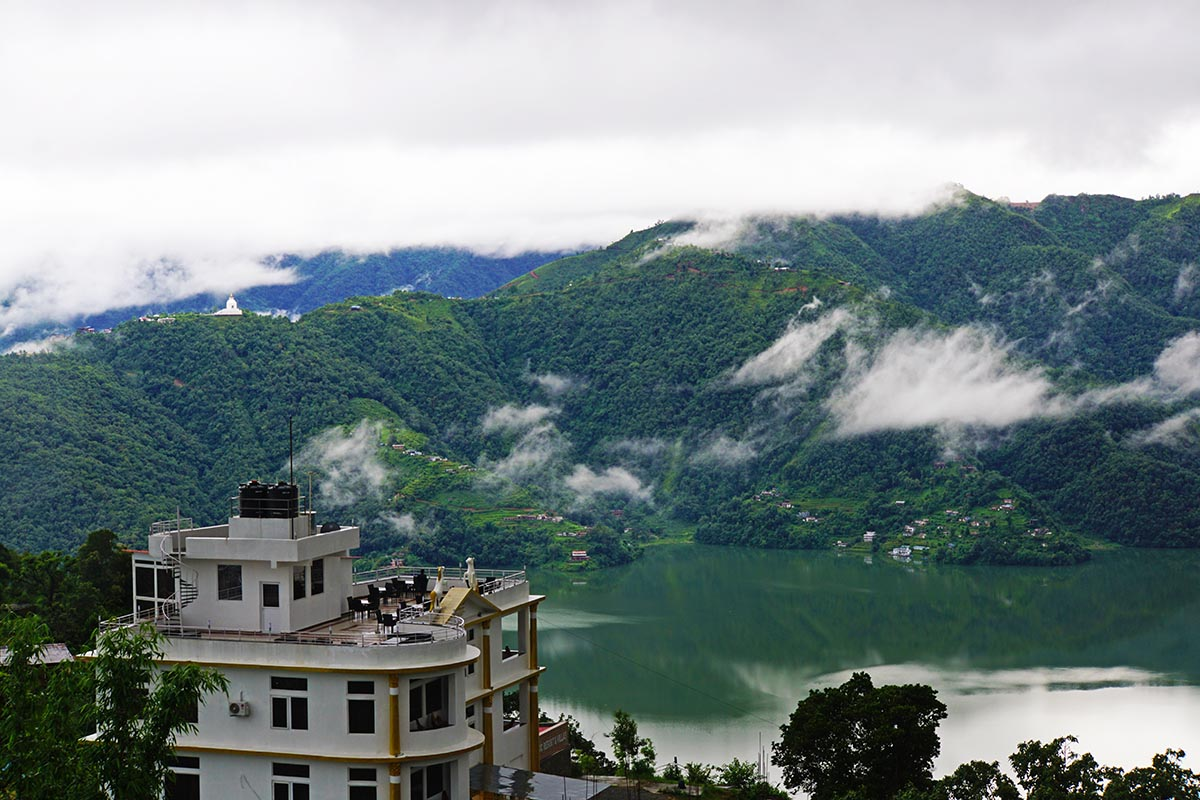 Jurassic Resort over Phewa Lake